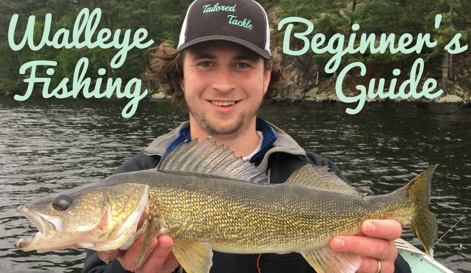 how to catch walleye fishing for beginners