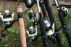 fishing combo rod reel freshwater tailored tackle