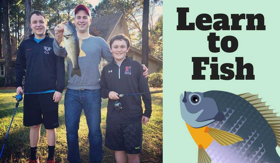 learn how to fish beginner fishing