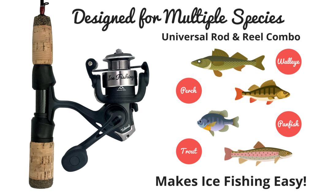 Ice Fishing Rod Reel Combo