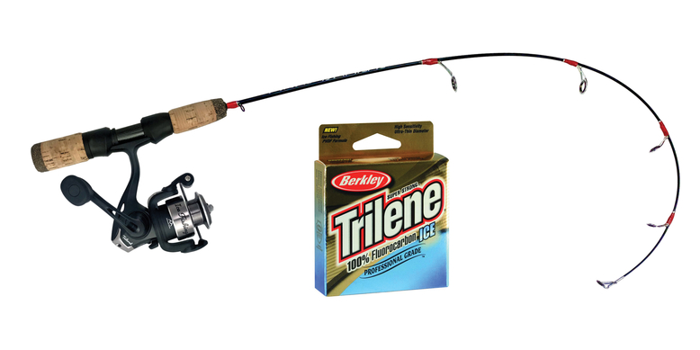 Ice Fishing Gear Rod Reel Tailored Tackle Fishing Line 6 Lb Mono 2