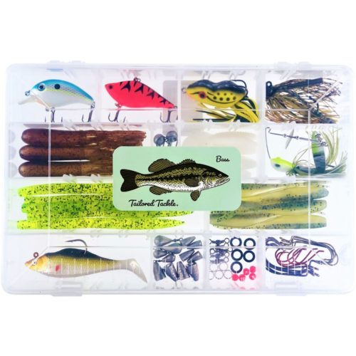 Bass Fishing Kit Lures Tailored Tackle