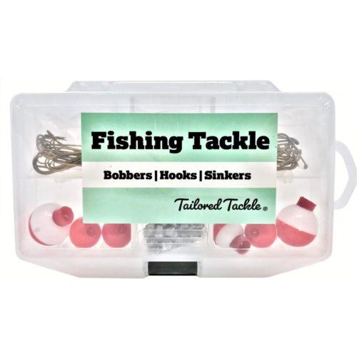 Basic Fishing Tackle Kit 140 Pcs.