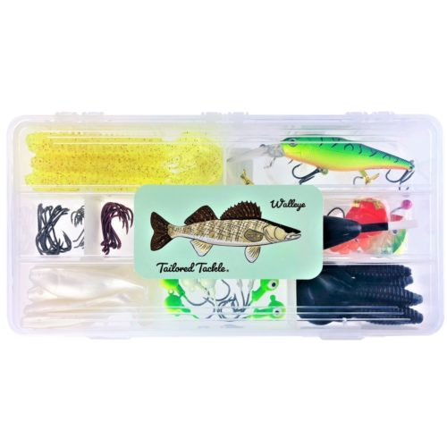 Walleye Fishing Kit Lures Tailored Tackle