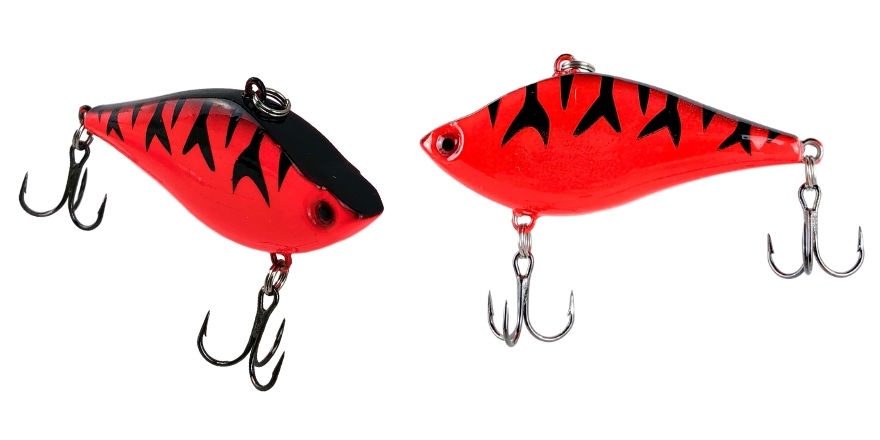 Lipless Crankbait in Crawdad Red