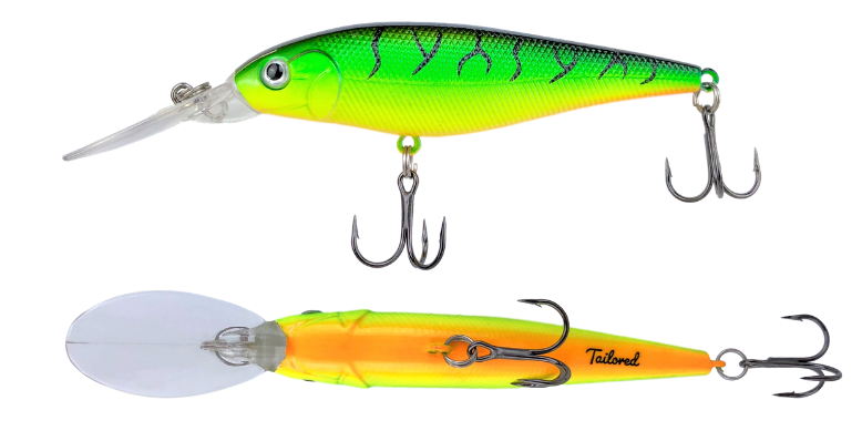 Firetiger Walleye Lures Color Tailored Tackle