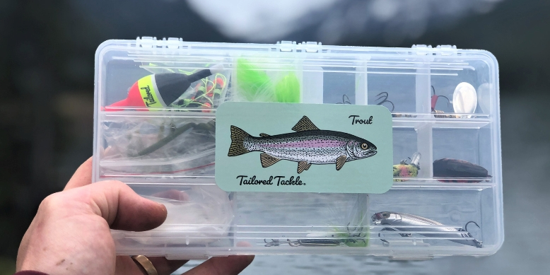 Trout Fishing Kit Tailored Tackle Lakes Ponds Reservoirs