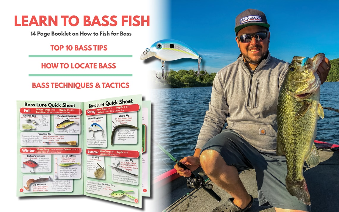 Bass Fishing Kit Book Learn to Fish for Bass Tailored Tackle