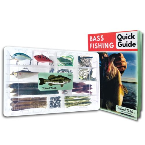 Tailored Tackle Bass Fishing Kit Book Gift Set Lure Lures Box Gear 3