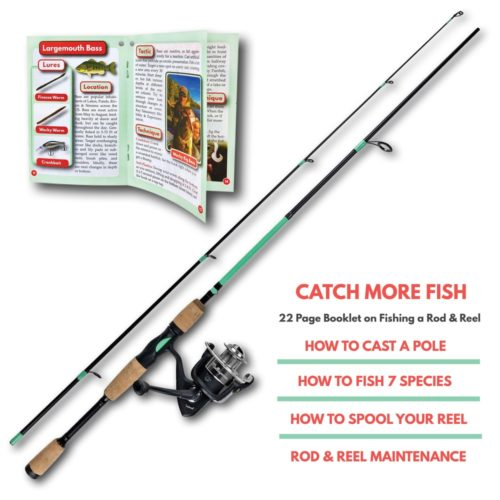 Multispecies Fishing Rod Reel Combo