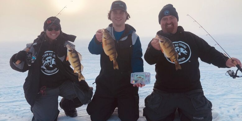 Jigging For Perch Ice Fishing Tailored Tackle
