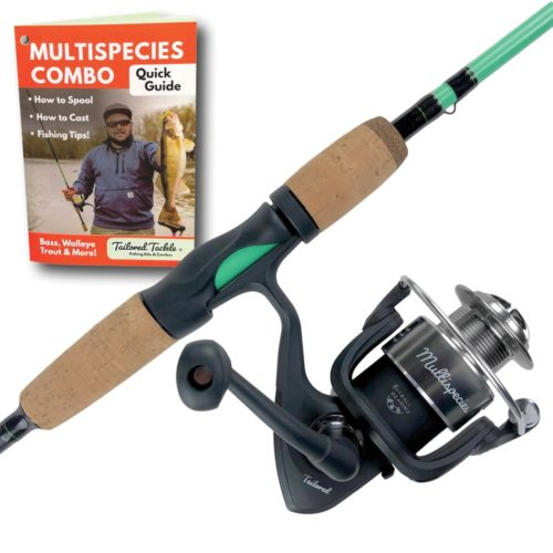 Multispecies Rod and Reel Combo Fishing Pole Tailored Tackle 2
