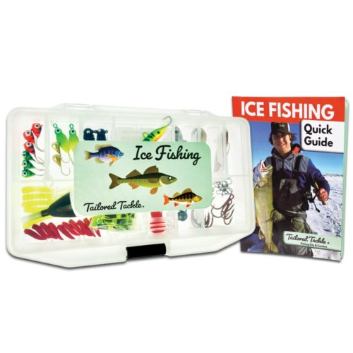 Ice Fishing Kit Lures Jigs Tailored Tackle 2
