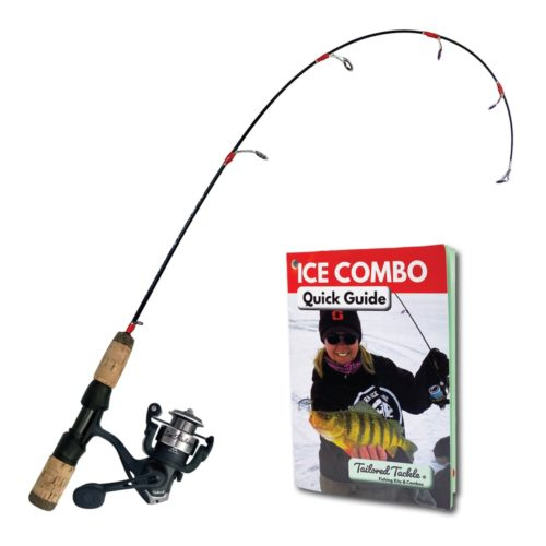 Ice Fishing Rod Reel Combo Walleye Perch Bluegill Crappie Panfish Trout 2