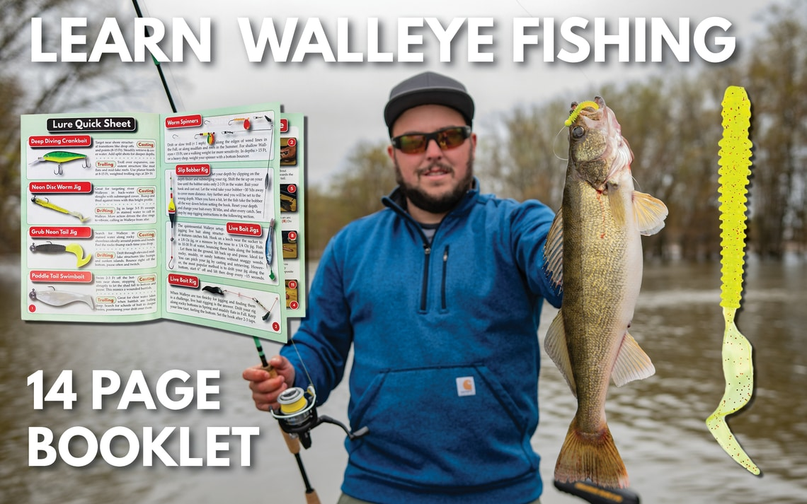 Learn to Fish Walleye Tackle Kit Lures Spinners Jigs Tailored Tackle 2