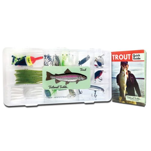 Trout Fishing Kit Lures Spinners Book Tailored Tackle 2