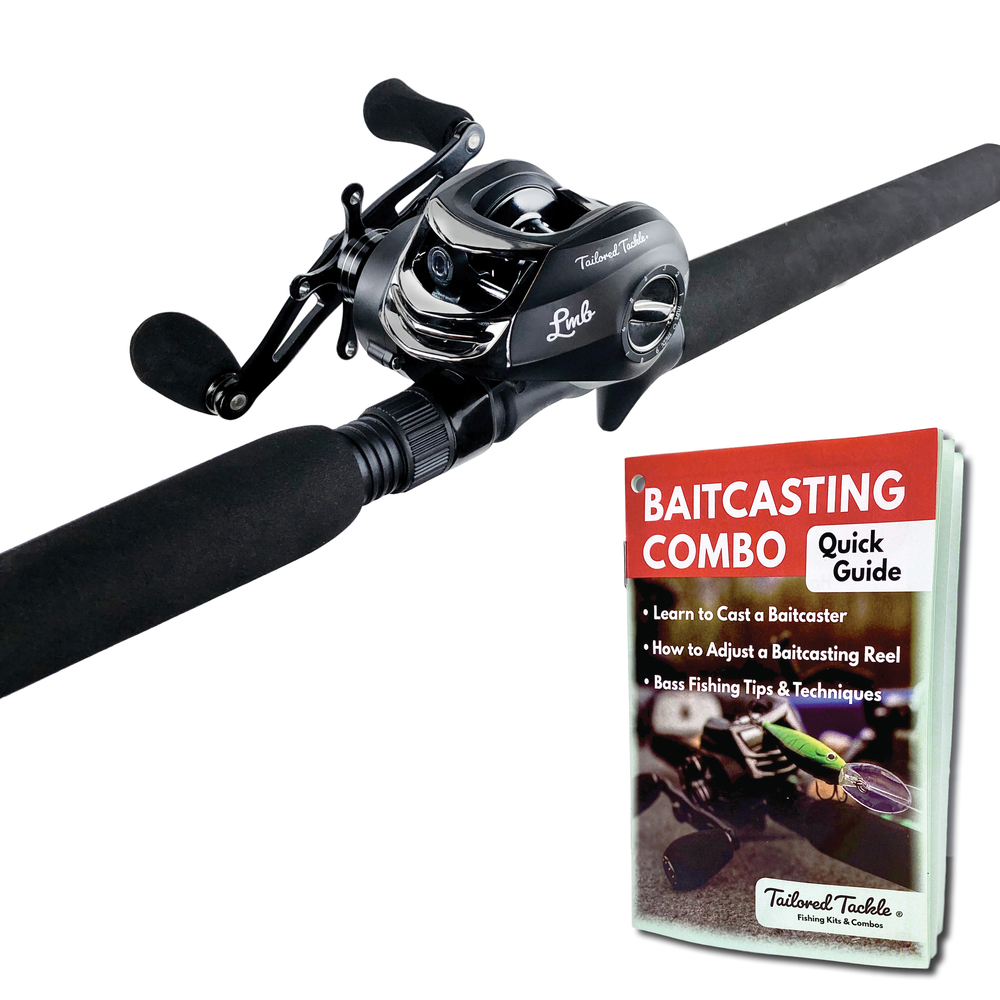 Baitcaster Bass Fishing Rod and Reel Combo | Tailored Tackle