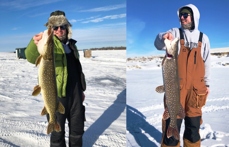 Tip Up Ice Fishing Northern Pike Tailored Tackle