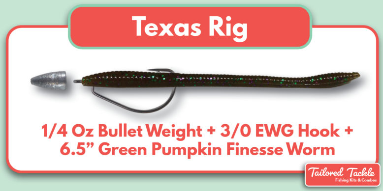 Texas Rig Setup Diagram How to Rig Texas Bass Tailored Tackle