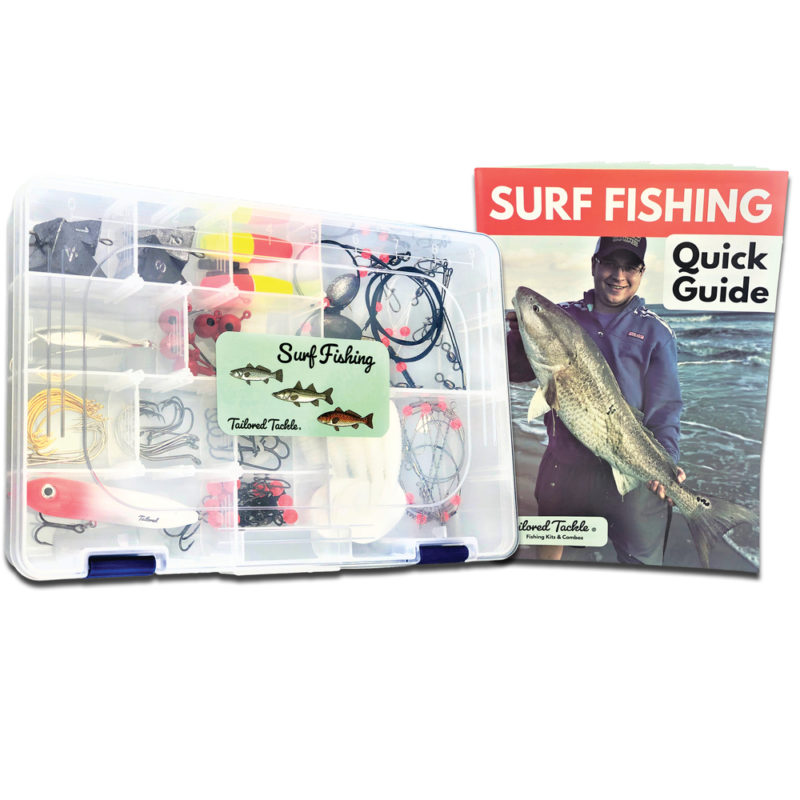 Surf Fishing Kit Saltwater Lures Tailored Tackle