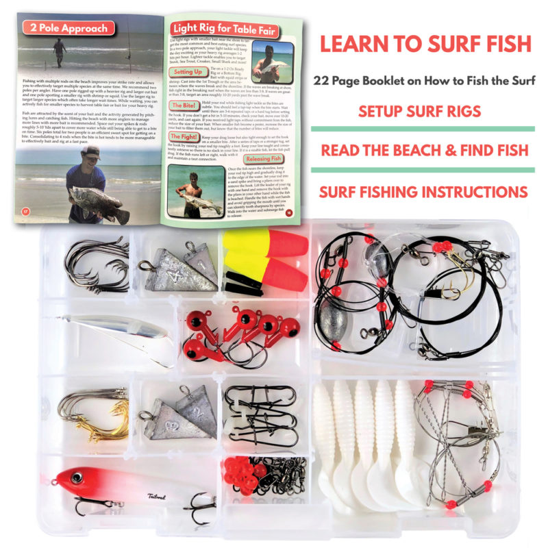 Surf Fishing Rigs Lures Jigs Tackle Kit Tailored Tackle