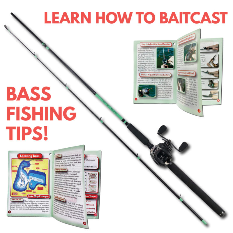 Bass Fishing Rod Baitcasting Combo Tailored Tackle 4