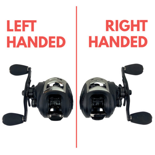 Bass Fishing Rod Reel Baitcasting Combo (LEFT HANDED)