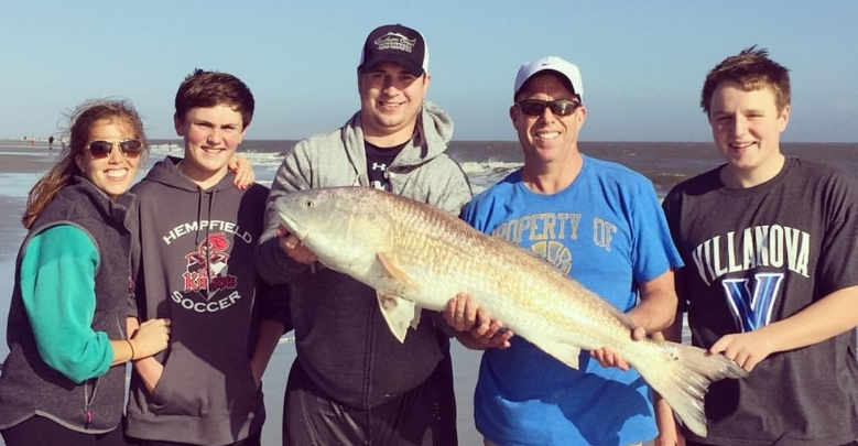 Redfish Fishing for Beginners in the Surf