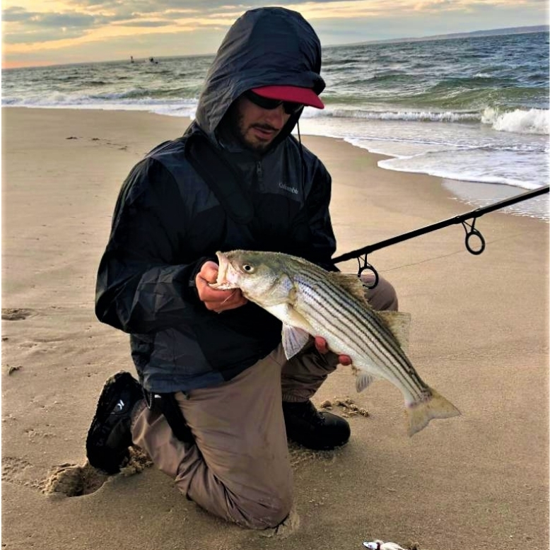 Striped Bass East Coast Lure Grub Jig Tailored Tackle