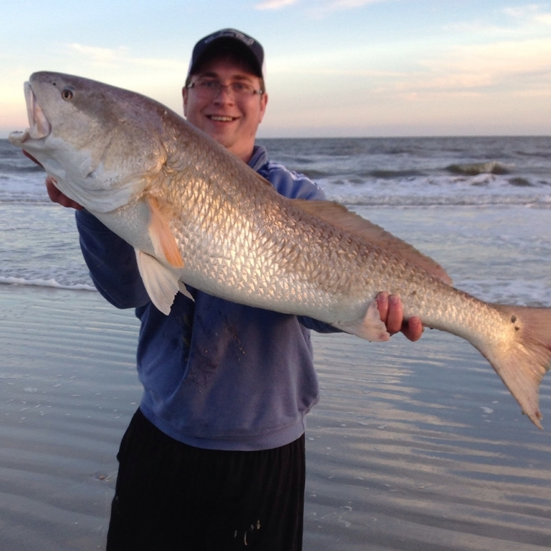 Trophy Redfish Ed Hitchcock Hilton Head South Carolina Trailored Tackle
