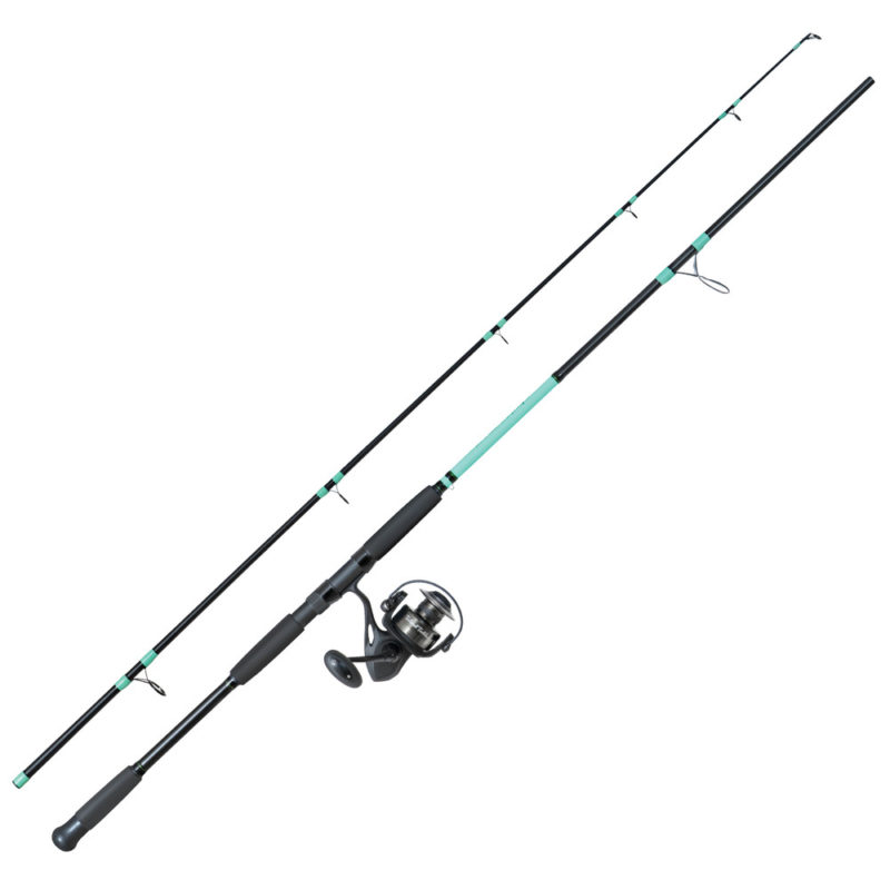 Tailored Tackle Surf Fishing Rod Reel Combo 10 Foot Ft Saltwater Rod 7000 Surf Reel Medium Heavy Moderate Fast 6